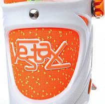 Раздвижные ролики Tempish Vestax (фитнес/беговые) оранжевые 35-38р., фото 3