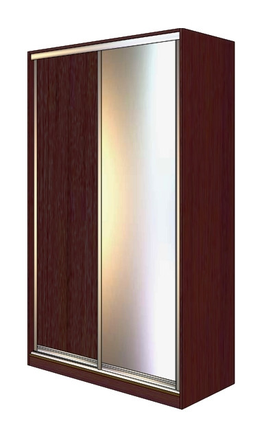 Двери раздвижные для шкафа купе комбинированные