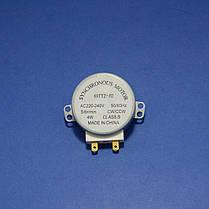 Двигатель поддона 49TYZ-A2 для микроволновой печи (220V, 5-6 об/мин), фото 2