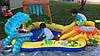 """Детский игровой надувной центр """" Динозавры"""" с горкой, фонтаном и  шариками ., фото 8"""