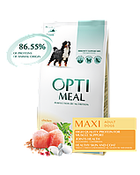 Optimeal (Оптимил) сухой корм для собак крупных пород с курицей 12КГ