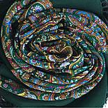 Горожанка 1836-9, павлопосадский платок шерстяной  с шелковой бахромой, фото 9