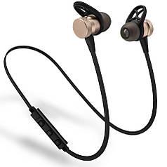 Bluetooth наушники HOOK Magnetic Gold (hub_bhQl59452_my)