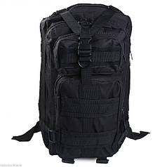 Тактический штурмовой рюкзак FREE SOLDIER Black 25 л (hub_np2_0071)