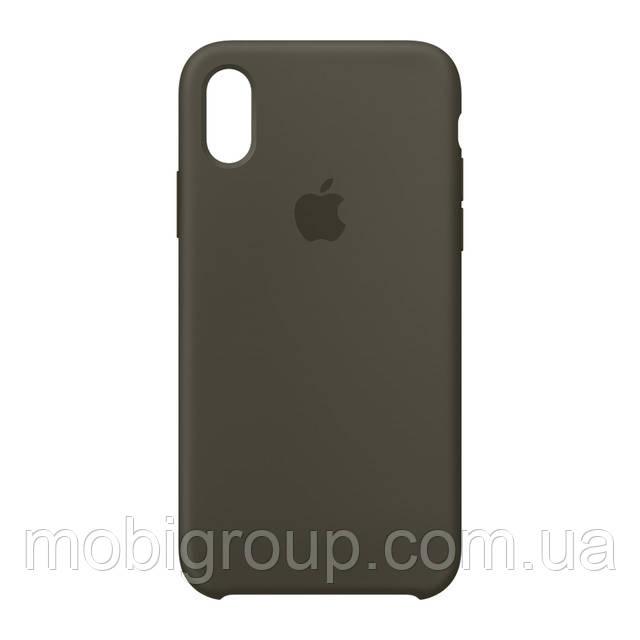 Чехол Silicone Case для iPhone XR, Grey