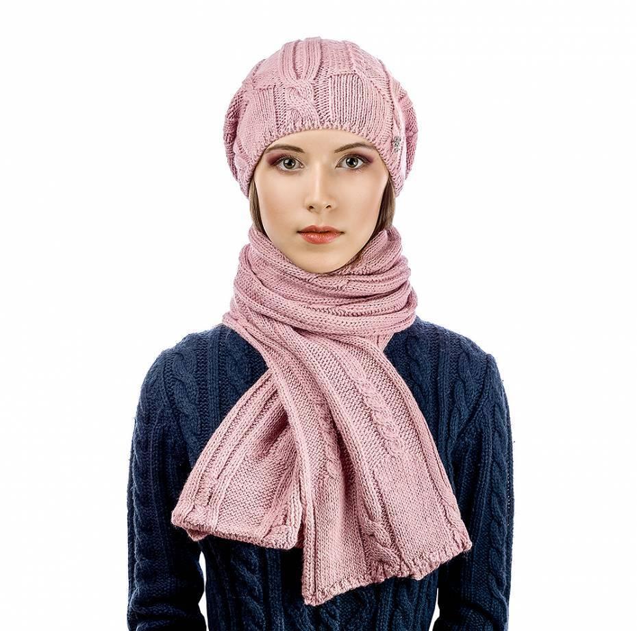 Комплект Atrics WK-547 шапка шарф