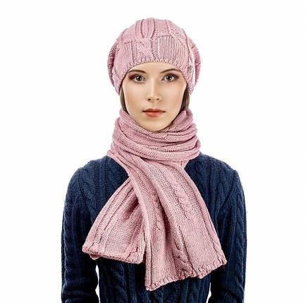 Комплект Atrics WK-547 шапка шарф, фото 2