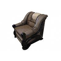 Кресло Гермес серый с белым Элизиум
