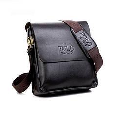 Мужская сумка POLO Classic Collection Dark Brown