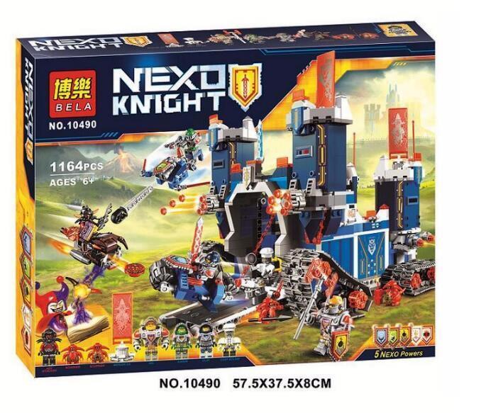 Конструктор Bela 10490 Nexo Knights Нексо Найтс Мобильная крепость Фортрекс 1164 деталей