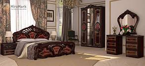 """Спальня """"Реджіна"""" від Миро-Марк (перо рубіно)."""
