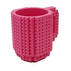 Чашка-конструктор QCF 350 мл Pink (0893)