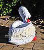 Садовая фигура Лебеди кашпо, фото 4