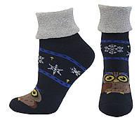 Носки оптом женские махровые с отворотом, фото 1