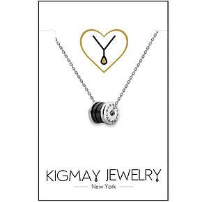 """Срібний кулон Kigmay Jewelry репліка 1:1 """"Bvlgari Zero1"""", фото 2"""