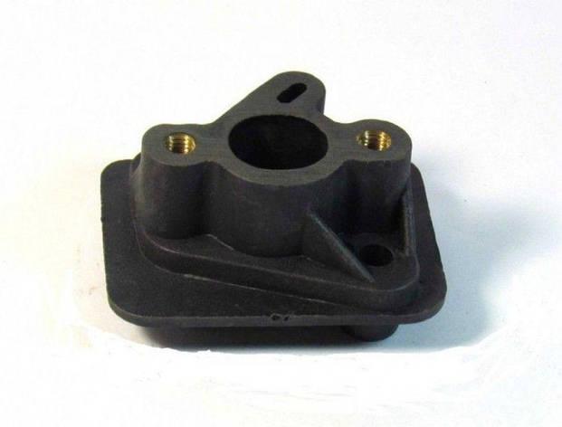 Перехідник карбюратора 40/44 бензокоси, фото 2