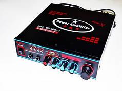 Усилитель звука Xplod SN-308 USB + SD + MP3 (hub_np2_0367)