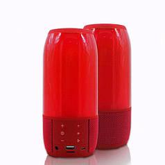 Портативная Bluetooth колонка с подсветкой Noisy Pulse 3 Red (np2_1113)