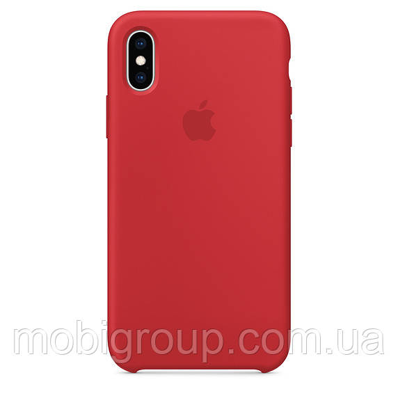 Чехол Silicone Case для iPhone XS, Red