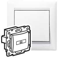 Выключатель для гостиничных номеров - стандарт - Valena - белый