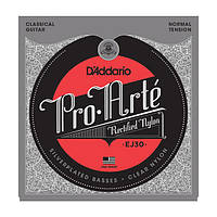 Струни для класичної гітари D`ADDARIO EJ30 PRO ARTE RECTIFIED NORMAL TENSION