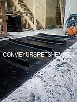 Лента шевронная для мусороперерабатывающих заводов