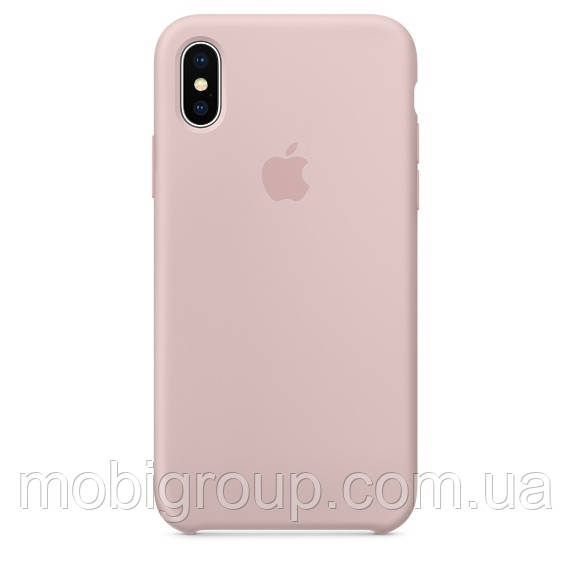 Чехол Silicone Case для iPhone XS, Pink Sand