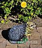 Садовая фигура Пенек с ежиком, Еж сидячий и Пенек березовый подставка для цветов, фото 5