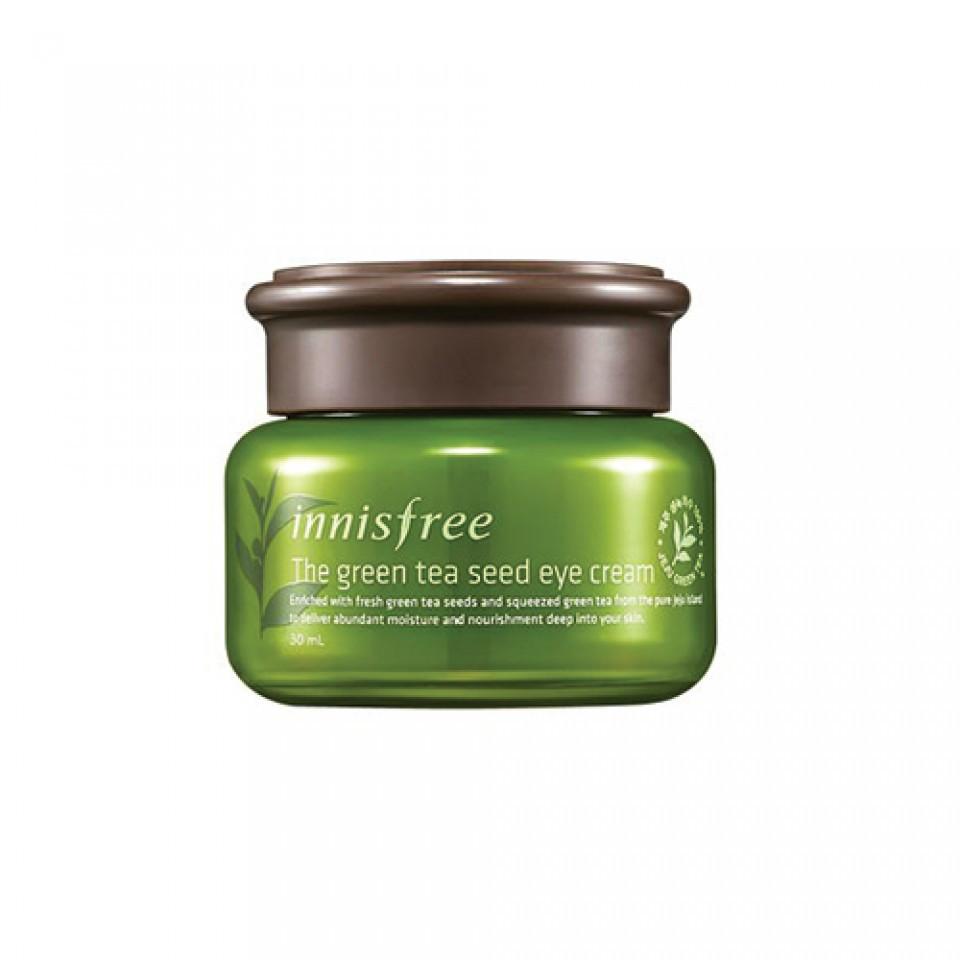 Крем для кожи вокруг глаз с семенами зеленого чая INNISFREE The Green Tea Seed Eye Cream , 30 мл
