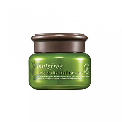 Крем для кожи вокруг глаз с семенами зеленого чая INNISFREE The Green Tea Seed Eye Cream , 30 мл, фото 2