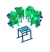 Многокомпонентный дозатор сыпучих материалов шнековый и любых сыпучих материалов. Любая производительность