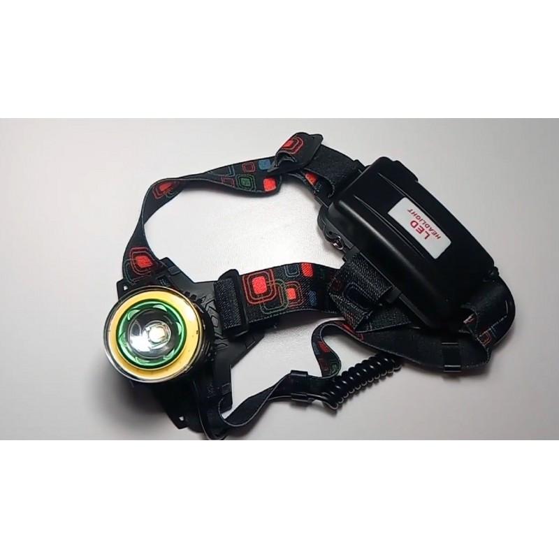 Налобный фонарь Police 620000W T105 T6+COB