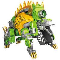 Трансформер динозавр,бластер, динобот Dinobots Стегозавр