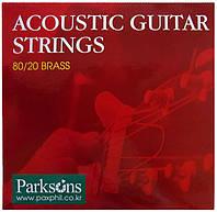 Струни для акустичної гітари PARKSONS S1252 ACOUSTIC L (12-52)