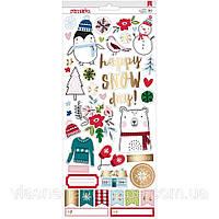 Наклейки - Sweater Weather - American Crafts - 30x30