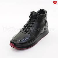 Мужские ботинки кроссовки красная подошва, фото 1