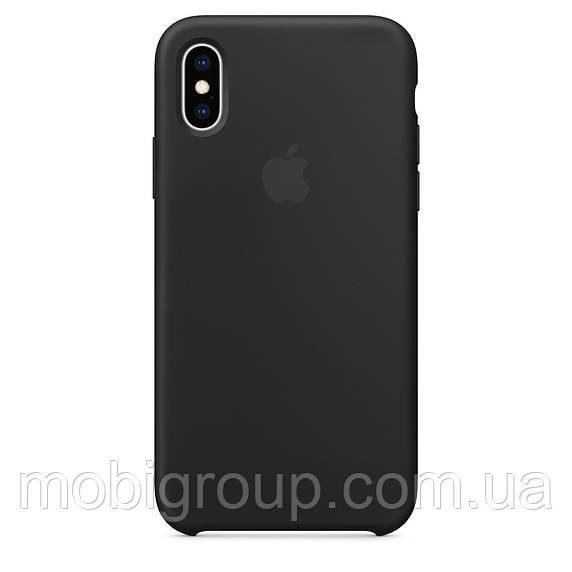 Чехол Silicone Case для iPhone X, Black