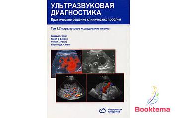 Блют Э.И - Ультразвуковая диагностика: Практическое решение клинических проблем; Том 1 Ультразвуковое исследование живота