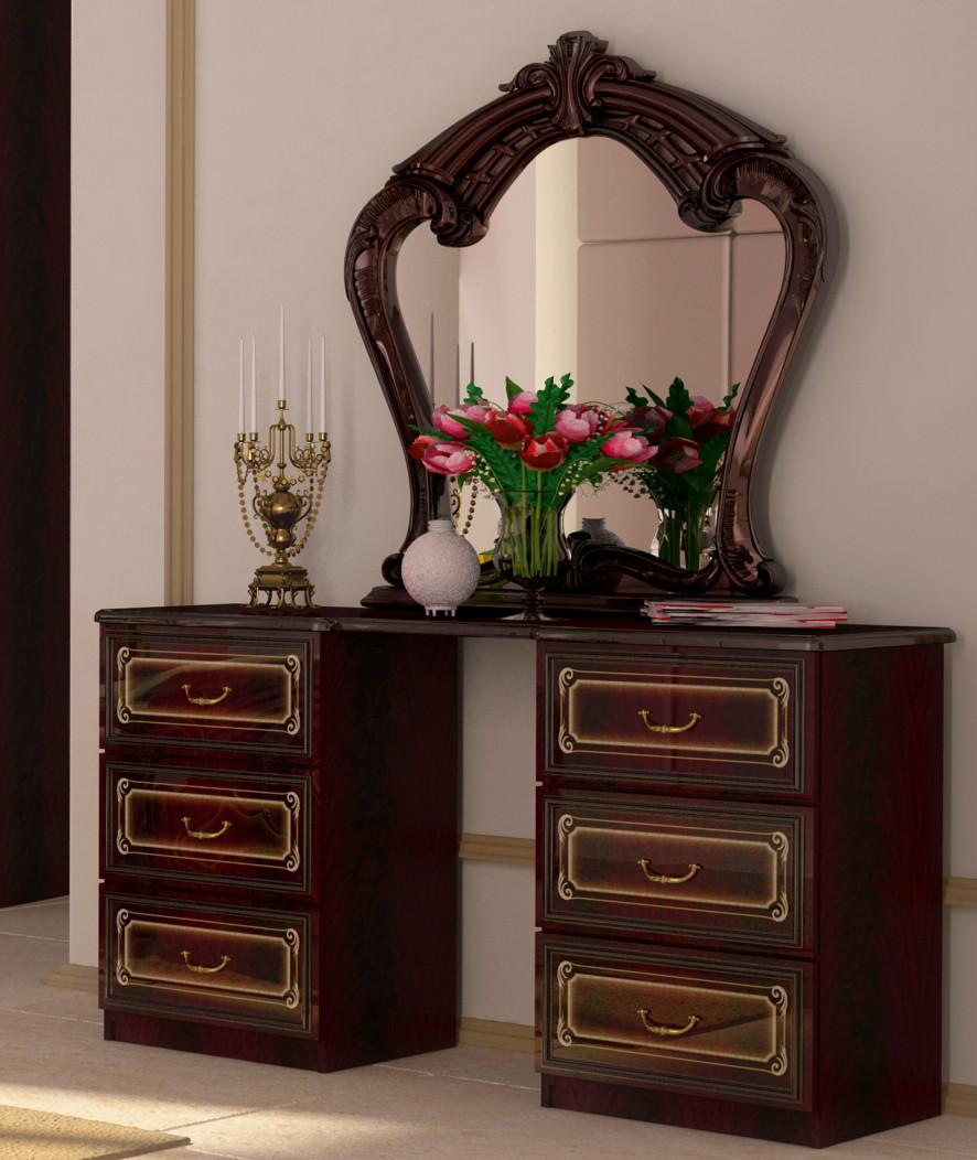 """Туалетний столик """"Реджіна"""" від Миро-Марк (перо рубіно)."""
