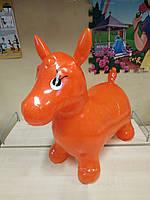 Детские прыгуны-лошадки (MS 0967) (Оранжевый), фото 1