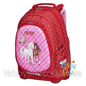 Рюкзак школьный ортопедический Herlitz BLISS Horses