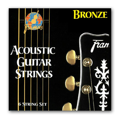 Струни для акустичної гітари FRAMUS 48210 BRONZE EXTRA LIGHT (10-46)