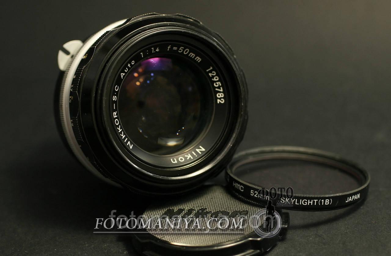 Nikkor-S.C 50mm f1.4 Non-Ai