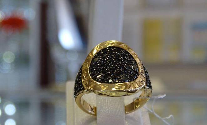 Кольцо золотое BVLGARY ( Булгари)