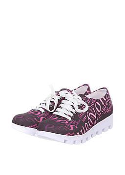 Кроссовки Lanina 37 черный, розовый (LA-3_Black-Pink)