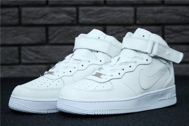 Кроссовки мужские Nike Air Force Mid 30951 белые