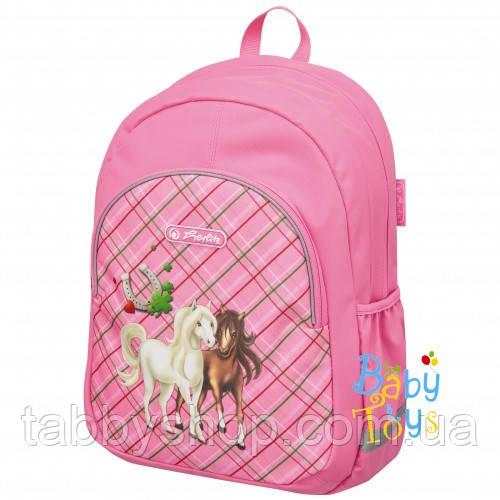 Рюкзак детский Herlitz KIDS Horses
