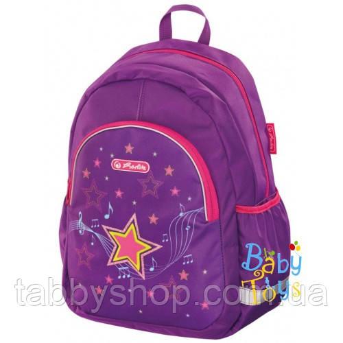 Рюкзак детский Herlitz KIDS Melody Star