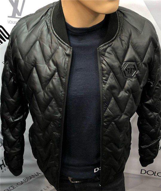 Куртка мужская Philipp Plein D5203 черная
