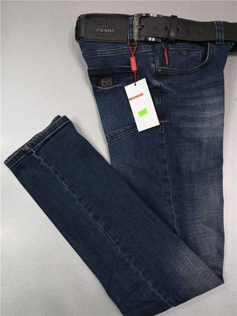 10f2fd1541ae0 Мужские джинсы Prada D5240 темно-синие - купить по лучшей цене, от ...